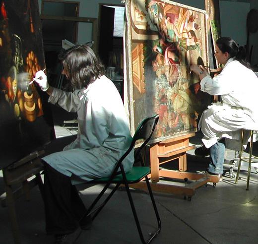 Restauradores de arte