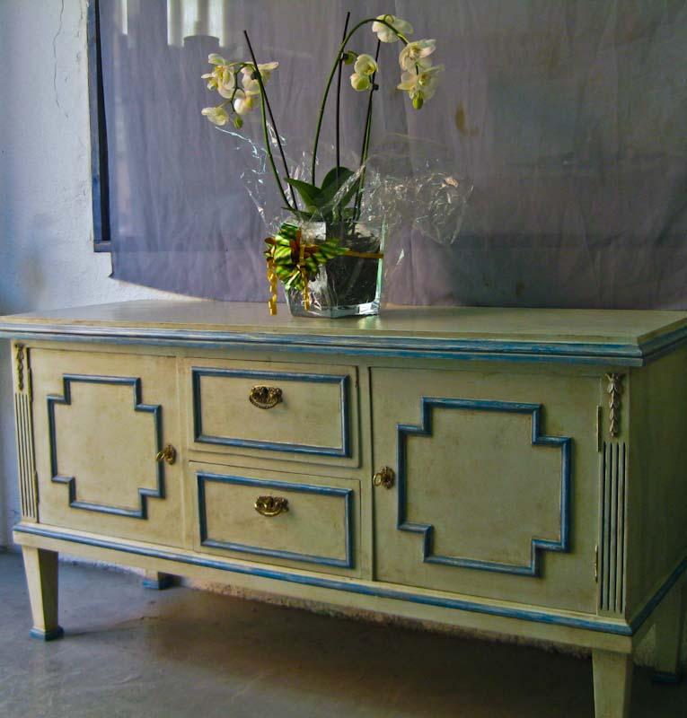 Pintura decorativa y alta decoracion en locales casas for Pintura decorativa muebles