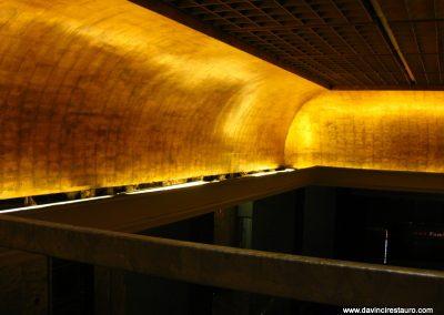 restauración dorados edificios