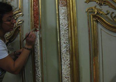 restauraron de dorados
