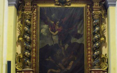 Restauración del Retablo de San Miguel Arcángel de Muel, Zaragoza