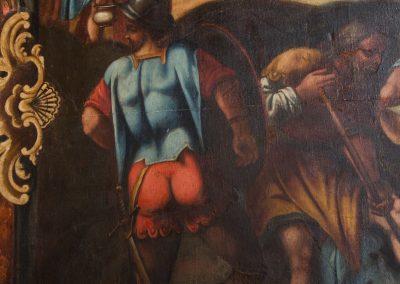 Lienzo de Crucifixión XVVIII