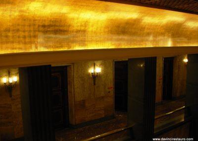 restauración dorados techumbre