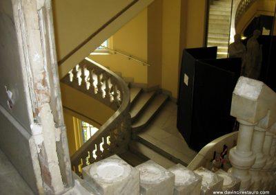 restauración escalera