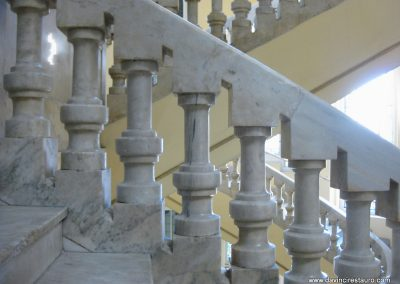 restauración balaustrada
