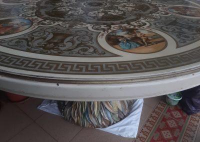 restauración mesa