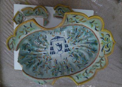 restauración porcelana antigua