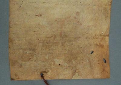 restauracion de pergamino y sello