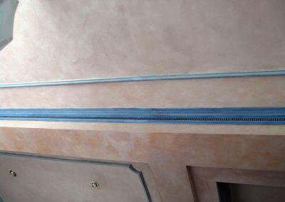 marmolizado en techo y paredes