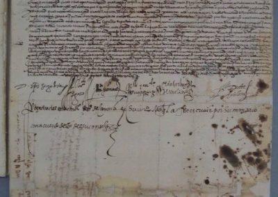 restauración de manuscritos.