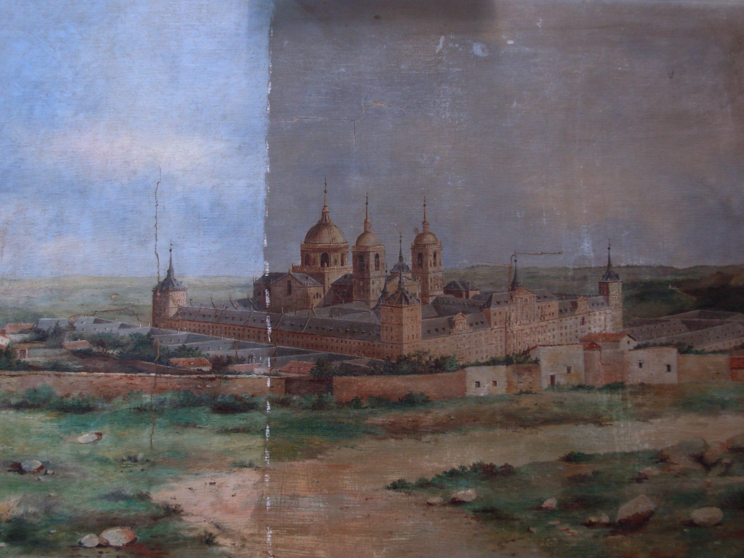 monasterio del Escorial fdo Alarcón.